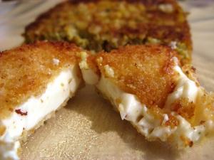 Breaded Cheese Cake (Vache qui rit)