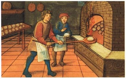 Medieval_baker, foto cabecera historia cuisine francesa