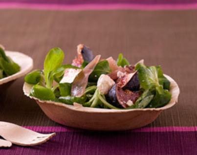56. salade de mache feta et figues et... Carlos Mirasierras