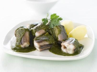 anguille au vert Carlos Mirasierras