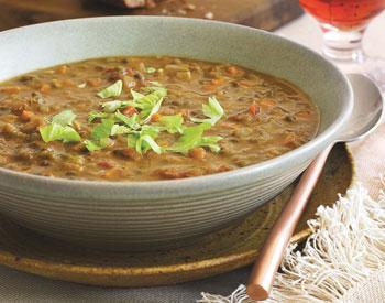 Soups. Lentil Soup  2