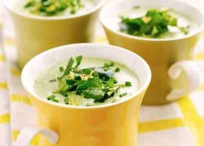 Soups. Vichyssoise Soup